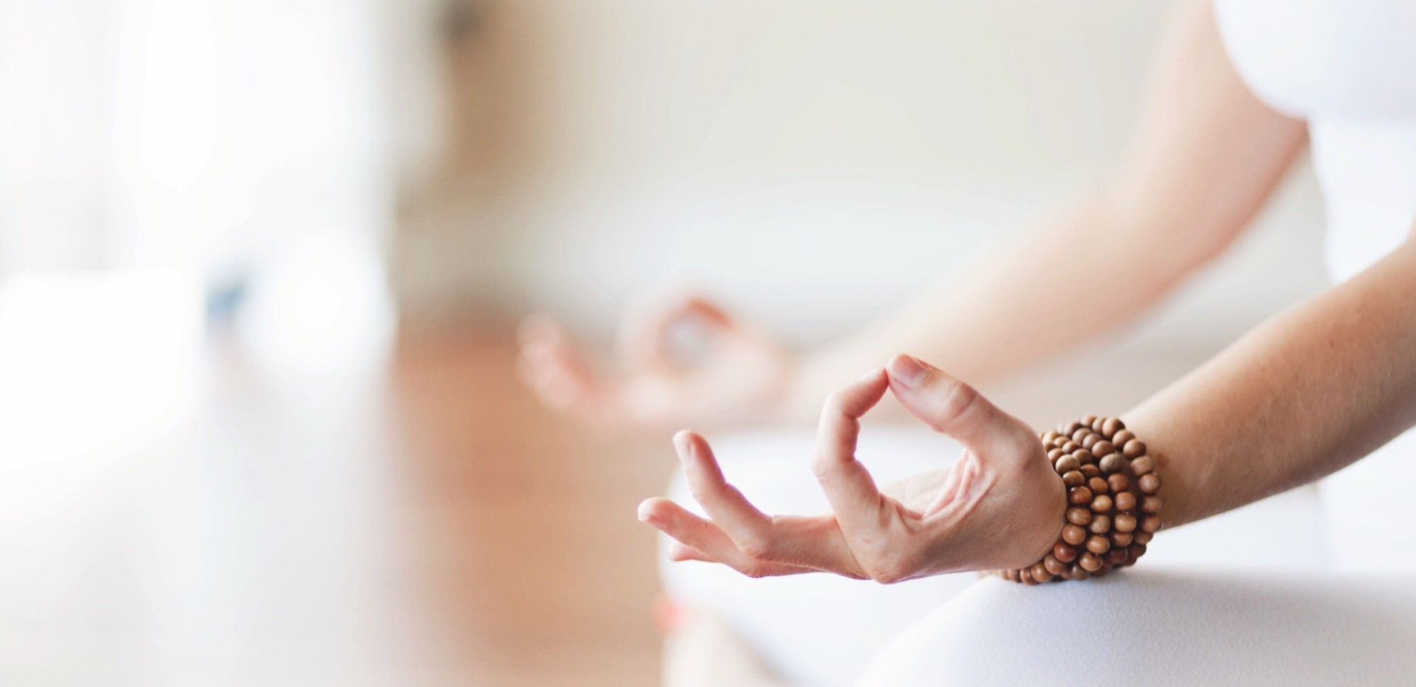 hands in ohm mudra